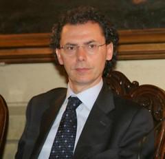 Maurizio Cevenini sorridente a Palazzo D'Accursio