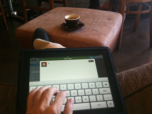 Lap top iPad