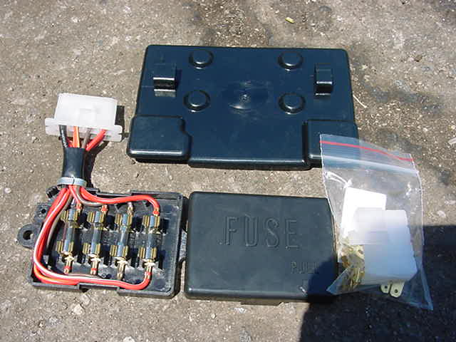 yamaha xs650 fuse box yamaha xs xj rd rz fz600 tx xs650 xs1100 fuse box ... #1