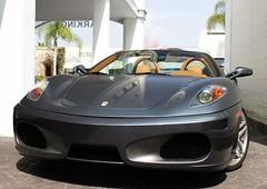 Ferrari F430 Spider (C. Arnoldy) Tags: ford shelby beverlyhills fordmustang ferrarif430 gt350 f430spider shelbymustang ferrarif430spider carrolshelby grigiosilverstone