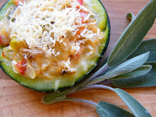 Zapallito Relleno | Stuffed Round Zucchini by katiemetz, on Flickr