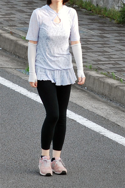 jogging Lydia