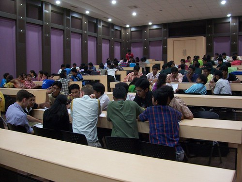 CubeSat workshop at Vellore Institute of Technology