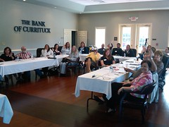 Group I in Currituck NC, taught Social Media - Martin Brossman (martinbrossman) Tags: curritucknc martinbrossman