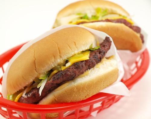 'Big Evil' Cheeseburger