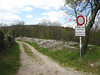 l'imbocco del sentiero 73