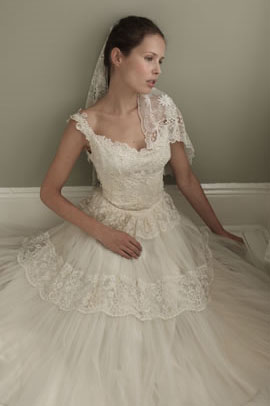 Vestidos de novia especiales, The Vintage Wedding Dress Company