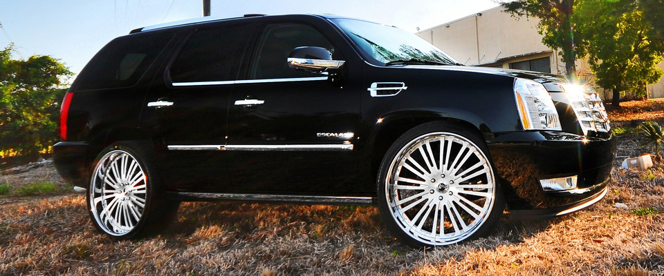 escalade cadillac 26 wheels valhalla cor forged truck flickr aluminum finished corvette
