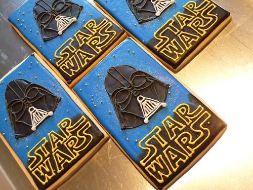 Darth Vader Star Wars Cookies