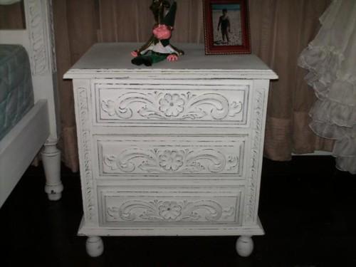 pátina em móveis