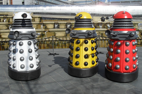 Supreme, Eternal and Drone Daleks