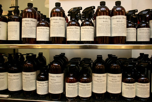 "Luxury eco-cleaning range from Murchison Hume - ""Boy's Bathroom"" Cleaner? So cute"