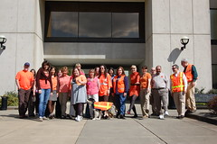 Go Orange Wellness Walk (WSDOT) Tags: orange walk bi wellness goorange wellnesswalk workzonesafety