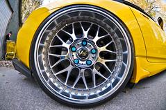 illest (Scott Santoro) Tags: blue wheel yellow work honda dish wheels deep tire chrome rim rims s2k s2000 ballin lugs vsxx