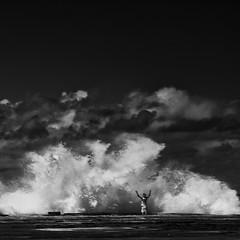 Poseidon Commands (Marshall Ward) Tags: blackwhite waves sydney bigwaves bigwave northnarrabeen marshallward