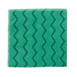 Rubbermaid Microfiber-green Cleaning Cloths