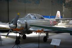 WSK TS-8 Bies (Tomasz Rychlik) Tags: museum pentax aircraft aviation military poland polska polish krakw cracow trainer muzeum bies polskiego wsk k10d pentaxk10d ts8 lotnictwa