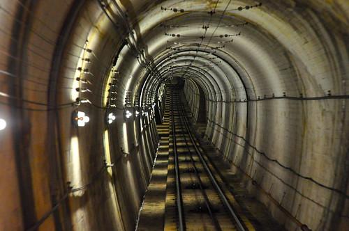 Túnel en Tateyama