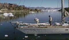940720 Med Mooring in Ice (rona.h) Tags: june arctic greenland 1994 cloudnine ronah uummannaq