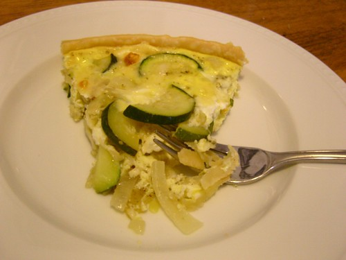 a slice of quiche suzanne
