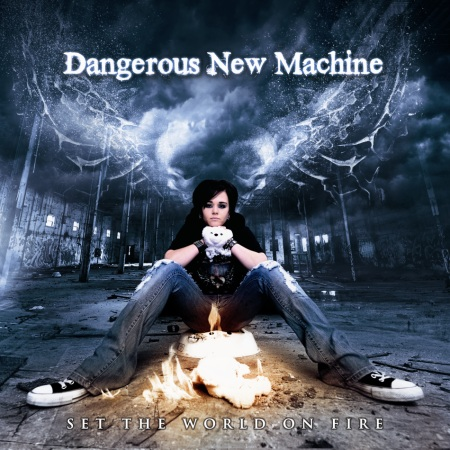 Dangerous New Machine - Album Cover. For more on the band visit: Dangerous