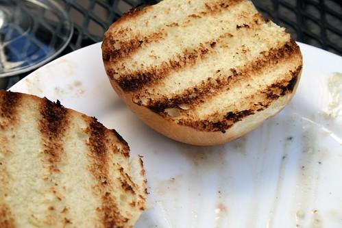 Toasted bun