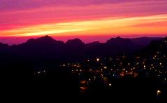 Sunset at Wadi Musa (Channed) Tags: travel sunset zonsondergang middleeast jordan neareast wadimusa jordani middenoosten  chantalnederstigt