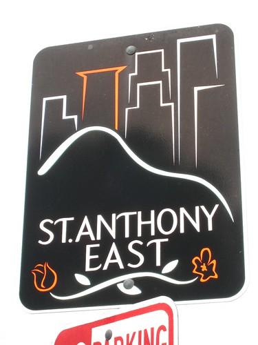 St. Anthony East Neighborhood Sign
