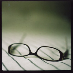 I'd like to think that things are getting better, he said, but my eyes are getting worse, so maybe I miss a lot. (diyosa) Tags: film polaroid glasses f28 160 storypeople hasselblad500cm instantfilm fujifp100c mynewglasses fromcostco