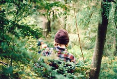 (Saria Dy) Tags: trip beach forest washington olympia greenery nikonn80 portra800