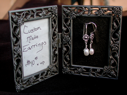 Earring Display