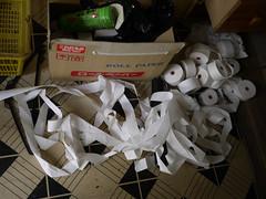 Roll paper (Queen Hotel)