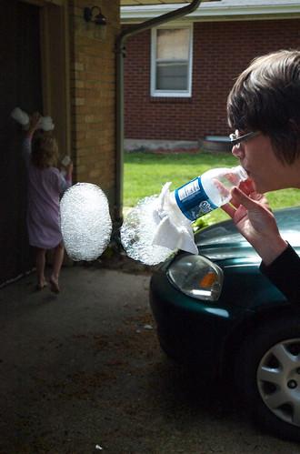Blow some bubbles