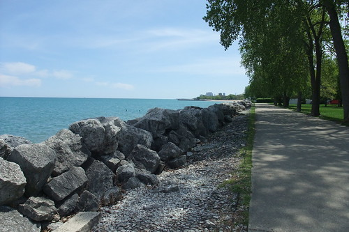 park by Lake Michigan