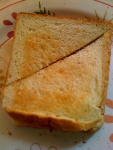 Roti tuna bakar