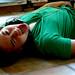 Sam Green Shirt Floor Headphones