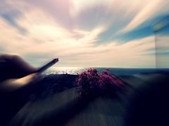 zooming-explore (viaggiaresiii) Tags: sea sky italy sun italia tramonto mare cielo fiori sole infinito brace salento lecce lampione zooming riflesso orizzonte sigaretta bagliore meridione luccichio tagviaggia