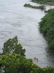 The Nile north of Jinja, Uganda