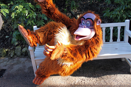 Disney Friends come out to play in Adventureland