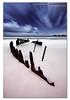 Today vs Tomorrow. ([ Kane ]) Tags: ocean longexposure summer sky beach night clouds sand day mood ship qld queensland noosa kane dri caloundra ssdicky dicky gledhill 50d pointcartwright kanegledhill pointarkwright wwwhumanhabitscomau kanegledhillphotography