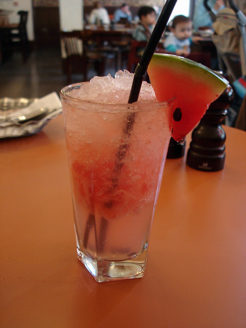 Some Watermelon Fizz Drink