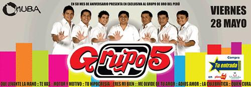 Grupo 5 - Onuba Disco San Borja