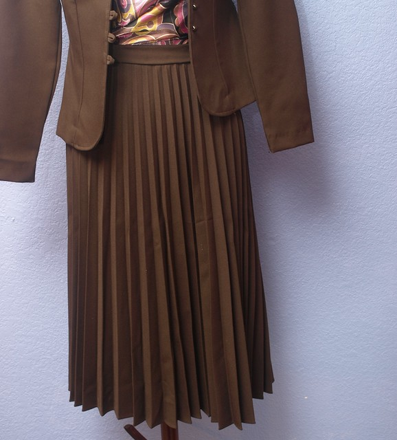 Vintage Brown Suit
