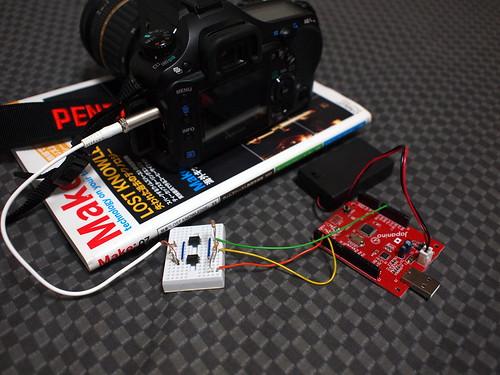 Japaninoでカメラ制御 全体像