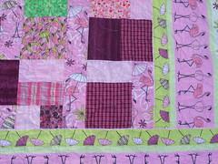 Flamingo quilt  03