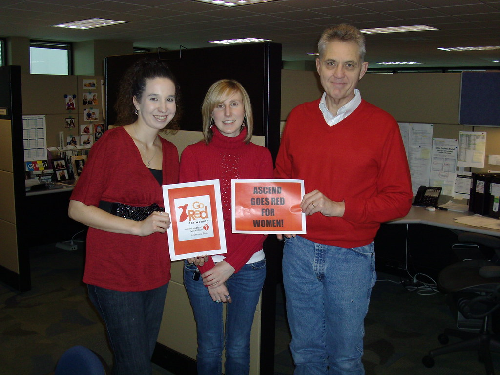 Ascend Integrated Media Goes Red For Women