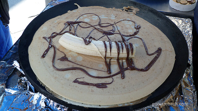 Crepes with Banana & Nutella