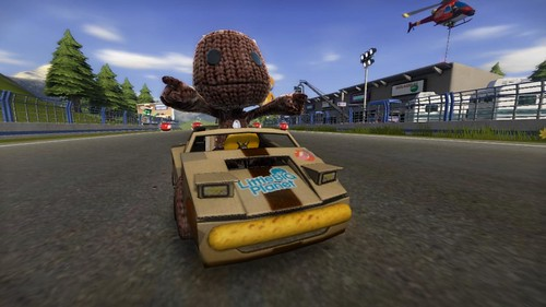 ModNation Racers for PSP: Sackboy
