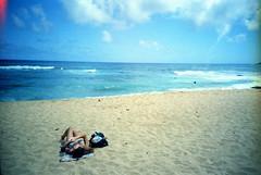 Hawaiian To Da Max (Justin Ornellas) Tags: justin girls sun art film beach water analog hawaii interesting lomo lca surf waves retro bikini lucky  hawaiian sandys   ornellas ornellaswouldgo