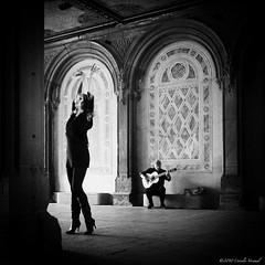 Olé (CVerwaal) Tags: nyc newyorkcity newyork pen lumix dance guitar centralpark olympus dancer heels flamenco guitarplayer dancinggirls spanishpassion lumix20mmf17 olympusep2